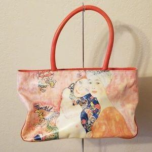 Icon LA Gustav Klimt Girlfriends Handbag NWOT